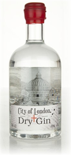 City Of London Gin Dry 750ml
